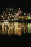 bc christmas parliament στοκ εικόνες