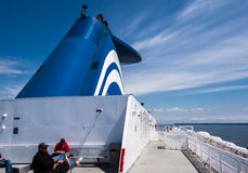 BC Ferries in British Columbia Royalty Free Stock Photo