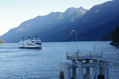 BC Ferries Royalty Free Stock Photos