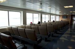 BC Ferry seating erea Royalty Free Stock Images