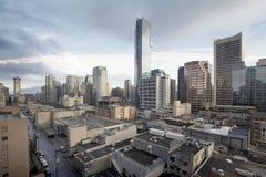 bc gata vancouver för cityscapedagrobson royaltyfri fotografi