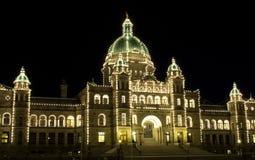 BC Gesetzgebung-Gebäude Lizenzfreie Stockfotografie