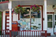 Sidar General Store, B.C. Canada Stock Image