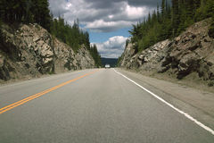 BC Highway 3, Canada. Royalty Free Stock Photography