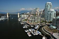 bc Kanada i stadens centrum vancouver strand royaltyfria bilder