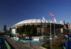 BC la place Vancouver du centre Photographie stock libre de droits