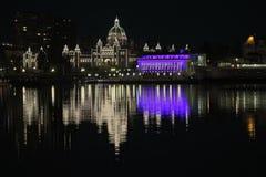 BC legislature Stock Photo
