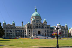 BC Legislature in Victoria Stock Image