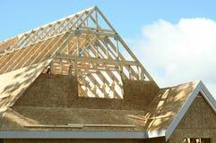 bc nytt home hus för konstruktion Fotografering för Bildbyråer