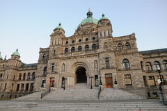 Bc parliament building Royalty Free Stock Photo