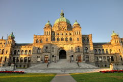 Bc parliament building Stock Images