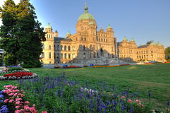 Bc parliament building Stock Photo
