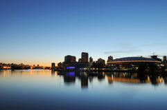 BC Place and False Creek, Vancouver Stock Images