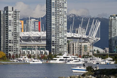 BC Place Stadium in Vancouver Royalty Free Stock Images