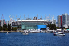 BC Place stadium. VANCOUVER BC CANADA JUNE 15 2015: BC Place is a stadium located at the north side of False Creek, in Vancouver, British Columbia, Canada. It is stock images