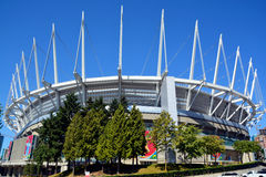 BC Place stadium. VANCOUVER BC CANADA JUNE 15 2015: BC Place is a stadium located at the north side of False Creek, in Vancouver, British Columbia, Canada. It is royalty free stock photography