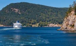 BC Veerboot Royalty-vrije Stock Afbeelding
