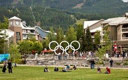 bc whistler Канады Стоковое Фото