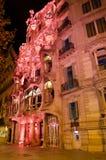 bca市场活动日国际连接粉红色 库存图片