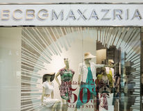 BCBG Max Azria shop Royalty Free Stock Photo