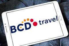 BCD旅行公司商标 库存照片