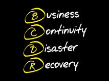 BCDR - Business Continuity Disaster Recovery