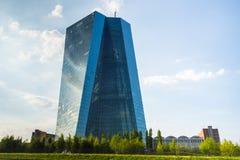BCE do Banco Central Europeu em Francoforte imagem de stock royalty free