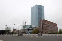 BCE do Banco Central Europeu em Francoforte fotos de stock