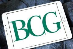 BCG, логотип группы Бостона советуя с стоковое фото rf