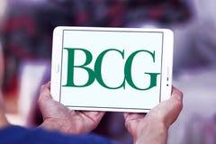 BCG, логотип группы Бостона советуя с стоковое изображение rf