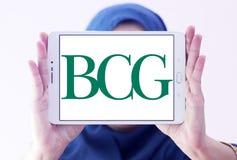 BCG, логотип группы Бостона советуя с стоковая фотография rf