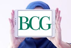 BCG, Boston Consulting Group logo Royalty Free Stock Photography