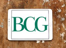 BCG, Boston Consulting Group logo Stock Images