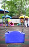 Bck view of a child swing Stock Photography