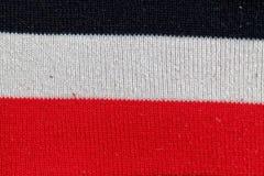 bckground的镶边棉织物五颜六色的纹理 免版税库存照片