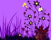 Bckground floreale Fotografia Stock