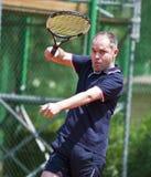 BCR夫人开张主要网球竞技场空缺数目 免版税库存图片