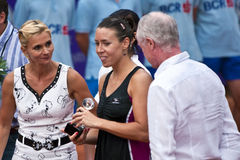 BCR Ladies Open Final Ending Ceremony Stock Images