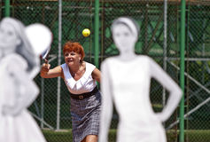 BCR Ladies Open Main Tennis Arena Opening Stock Photo