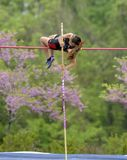 Pole Vault Stock Photo