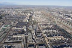 Bd. de LAX et de siècle à Los Angeles Photos libres de droits