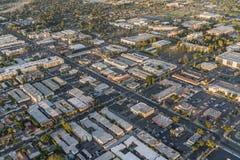 Bd. et Northridge de Reseda de vue aérienne à Los Angeles image libre de droits