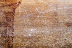 Będąca ubranym drewniana powierzchnia Obraz Stock