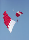 BDF jednostek specjalnych pokazu Spadochronowa drużyna wykonuje w Bahrajn Obrazy Stock