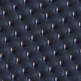 BDSM spikey leather chesterfield upholstery Stock Photos