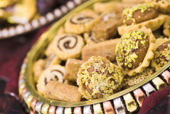 BDStudio Stock Photography. An array of Arabic sweet used during Ramadan, special occasions and general social events Stock Photo