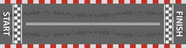 Beëindig lijn het rennen achtergrond vector illustratie