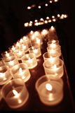 Beïnvloedbare kaarsen Stock Afbeelding