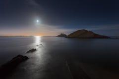 Bełkoty blaskiem księżyca Obraz Stock