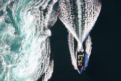 Bełkowisko łódź Obrazy Stock